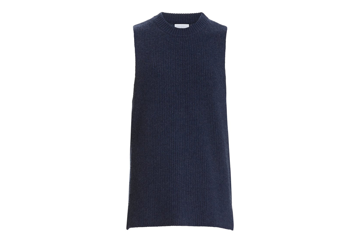 Sablyn Ashley Cashmere Sleeveless Sweater