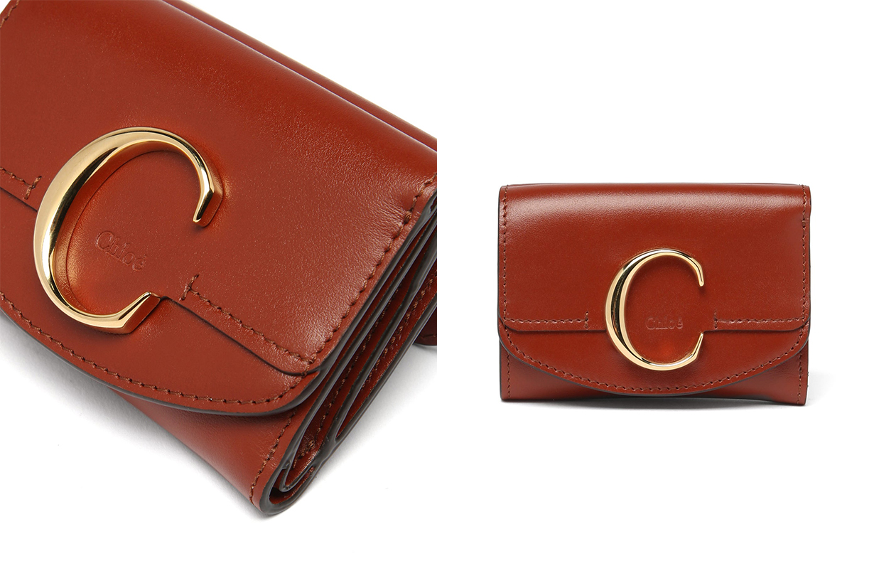 The C Logo Leather Wallet