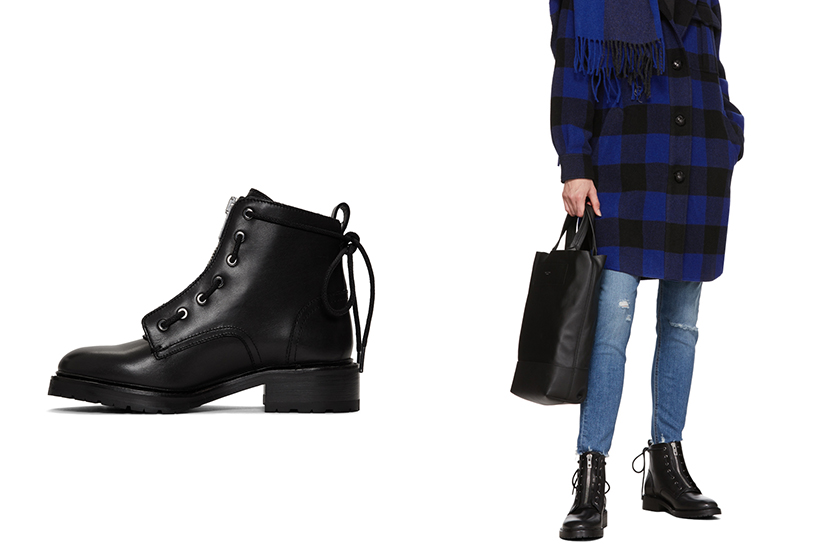 Ankle Boots Outfit Idea