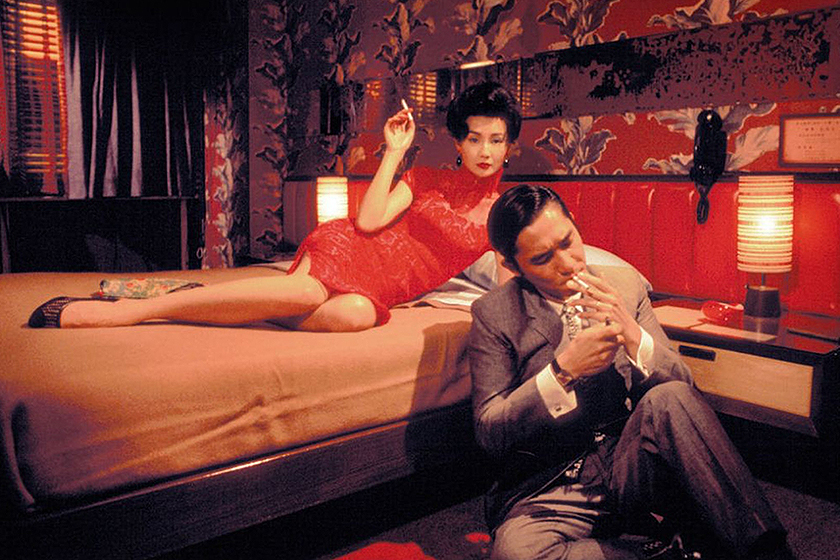 Wong Kar Wai In the Mood for Love 4K Cannes