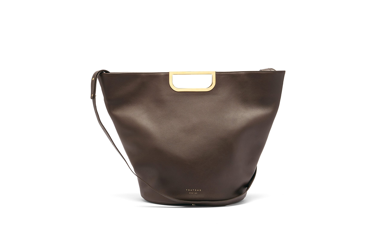 Anouk leather tote bag