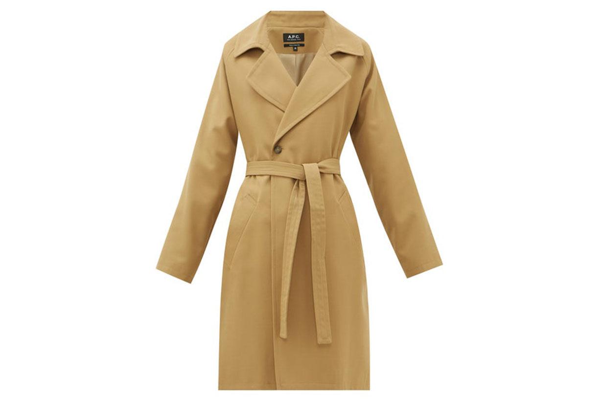 Bakerstreet Belted Twill Coat