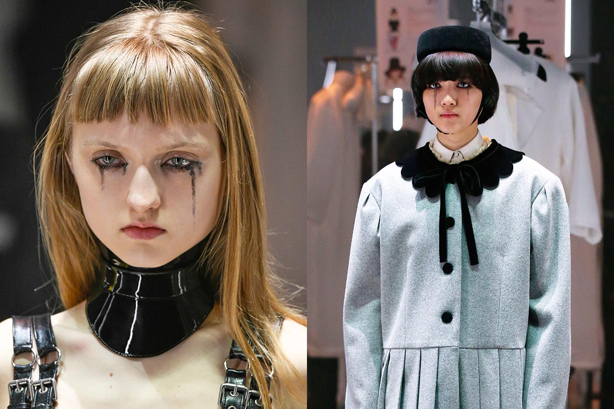 Milan Fashion Week 2020 Fall Winter Beauty Trends Makeup Hairstyles Trends 2020 Gucci Prada Moschino Fendi Jil Sander Vivetta Max Mara Marni