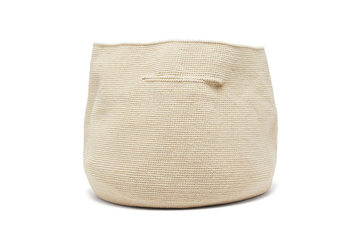 Bowl Cotton and Linen Handbag