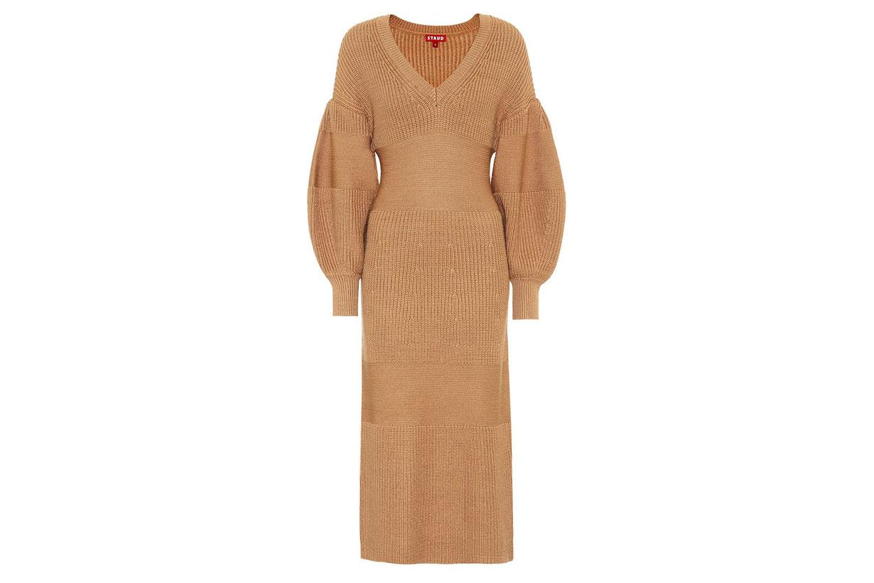 Carnation Knit Midi Dress