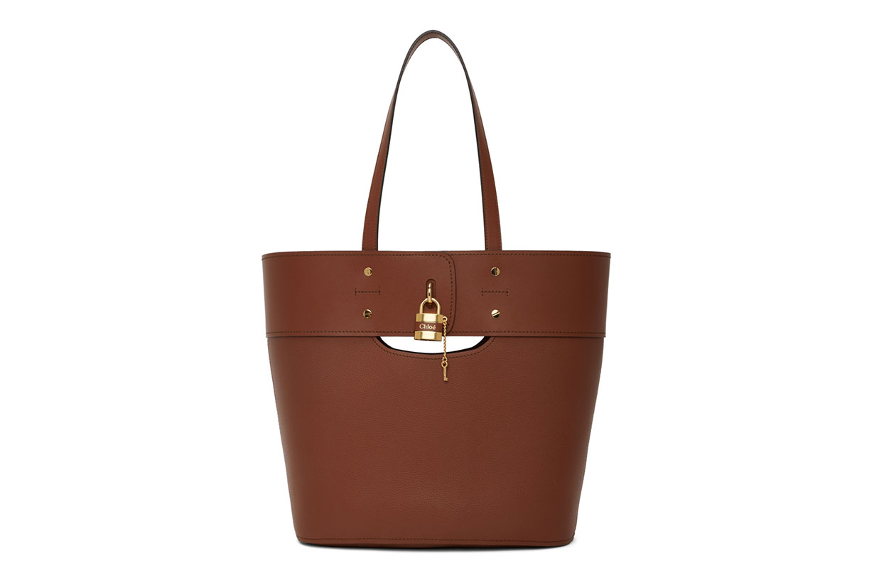 Chloé Brown Medium Aby Tote