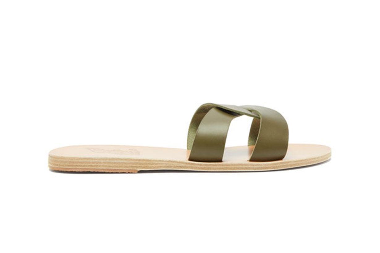 Desmos Leather Slides