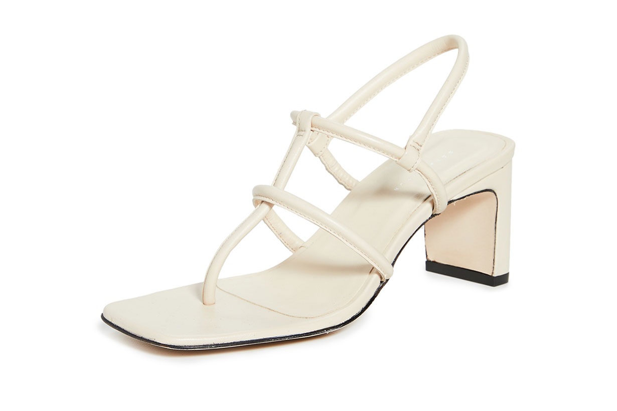 Dorateymur Heeled Thong Sandals