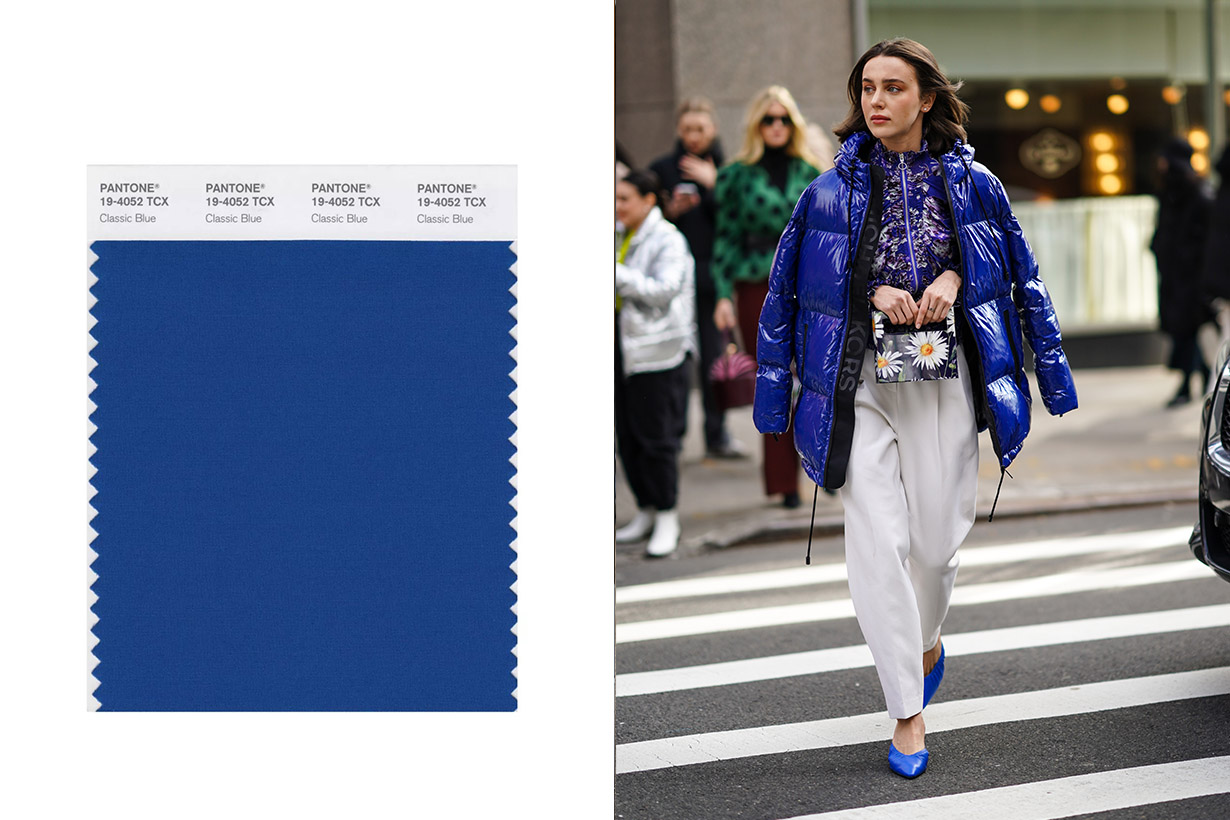 fall 2020 street style trends pantone colors New York fashion week