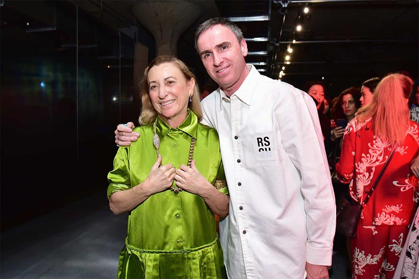 Raf Simons fashion designer jil sander Dior Calvin Klein Prada Creative Director