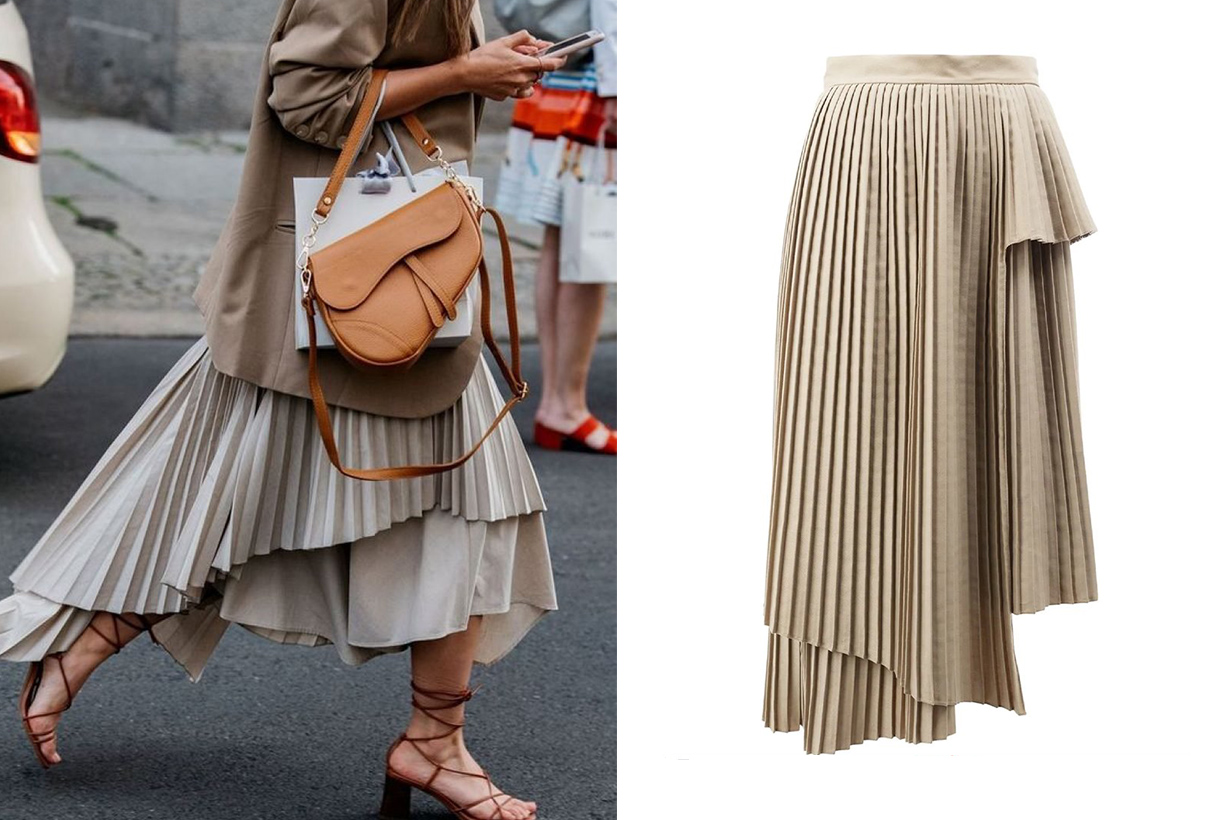 best pleated skirts ss2020