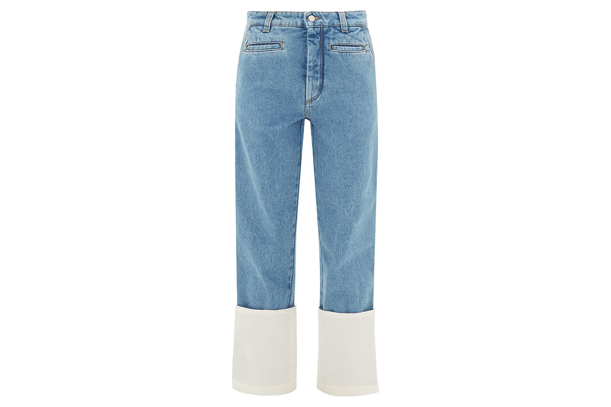 Fisherman Turn-up Cuff Jeans