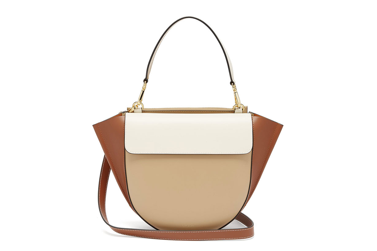 Hortensia Medium Leather Shoulder Bag