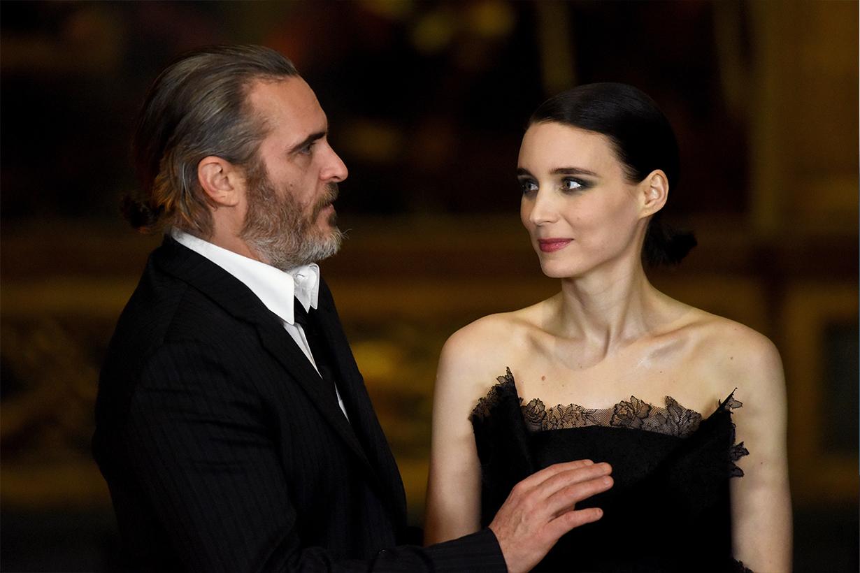 Joaquin Phoenix Rooney Mara Joker Oscars 2020 Best Actors Love Story Celebrities Couples True Love Her The Girl with the Dragon Tattoo Hollywood Actors