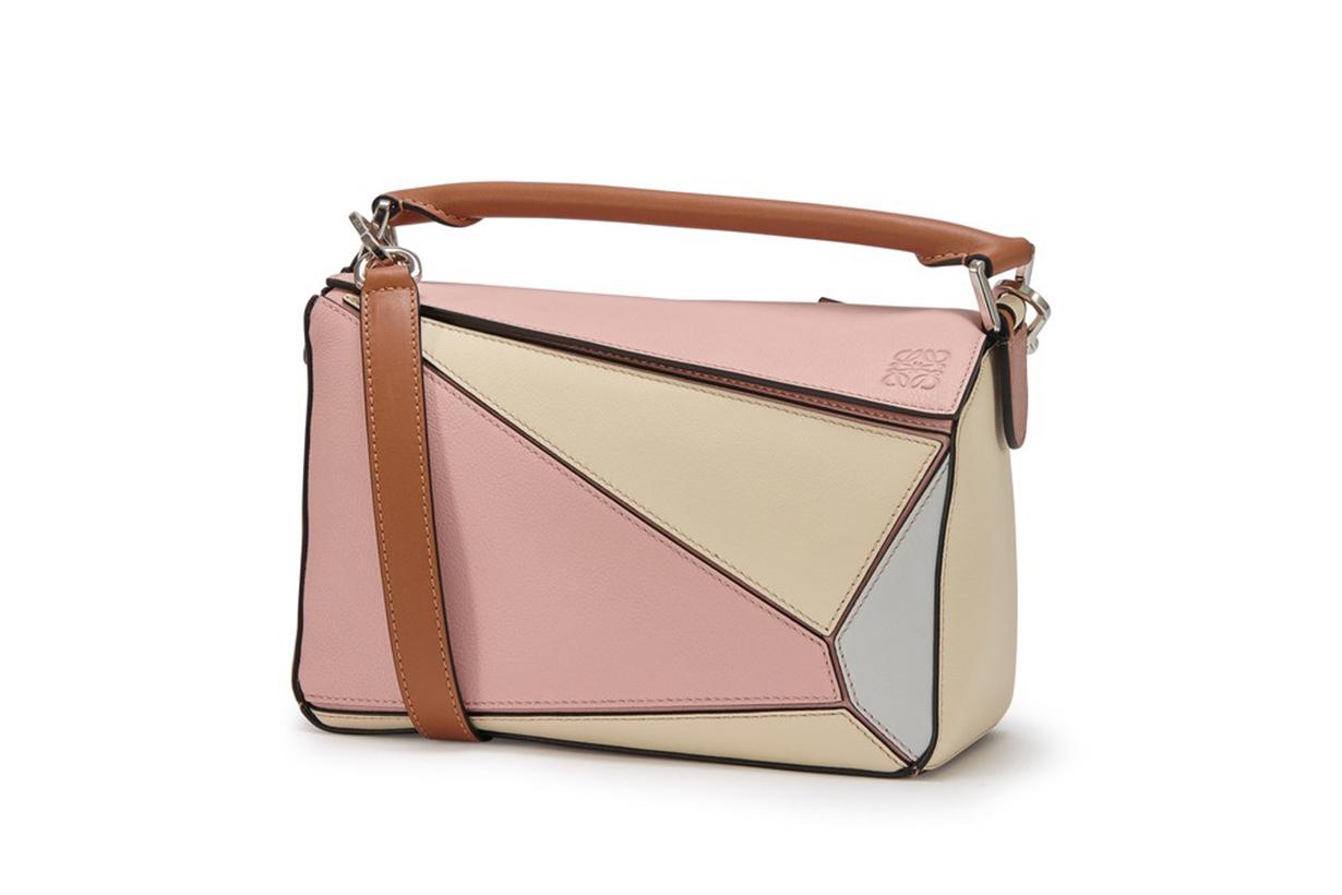LOEWE Paula's Ibiza Puzzle small leather bag