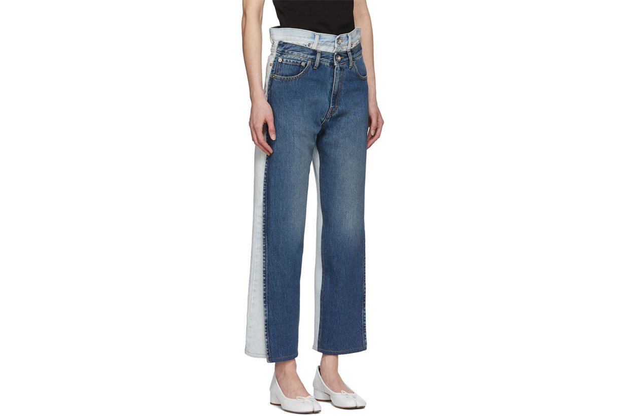 Maison Margiela Blue Double Jeans