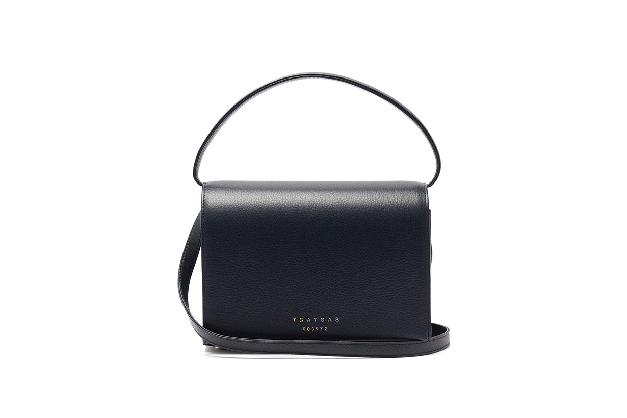 Malva 4 grained-leather bag