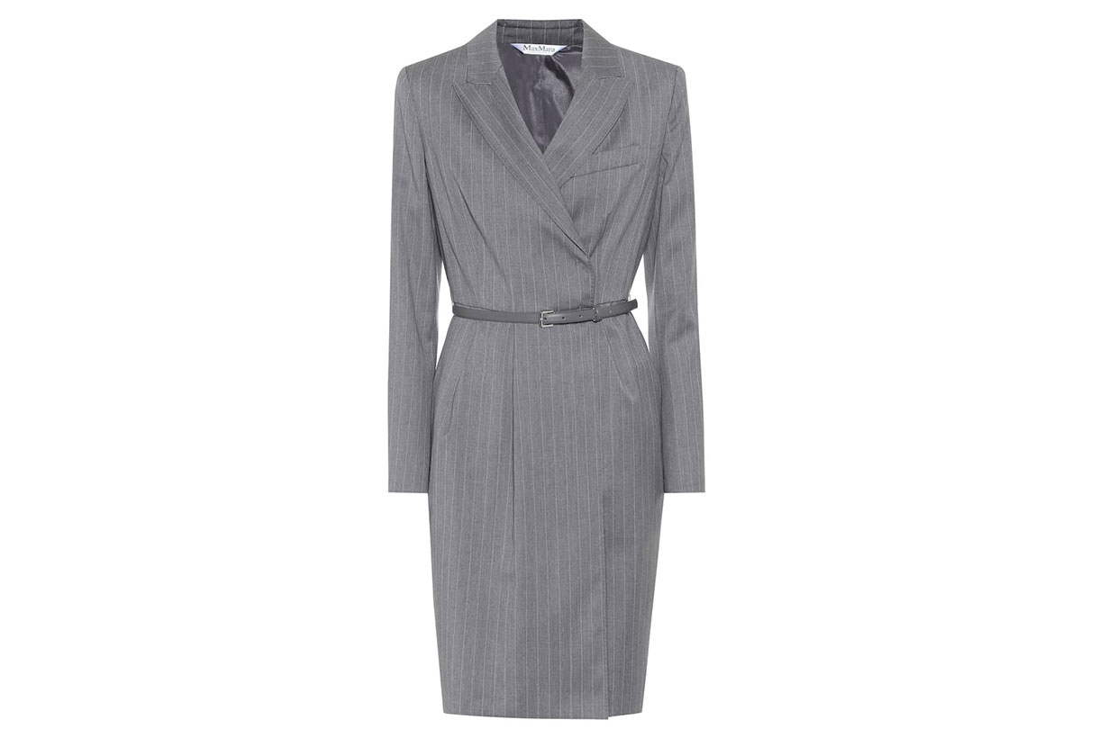 Martin Belted Virgin Wool Dress