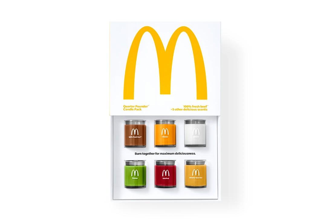 mcdonalds Scented Candle Quarter Pounder Fan Club