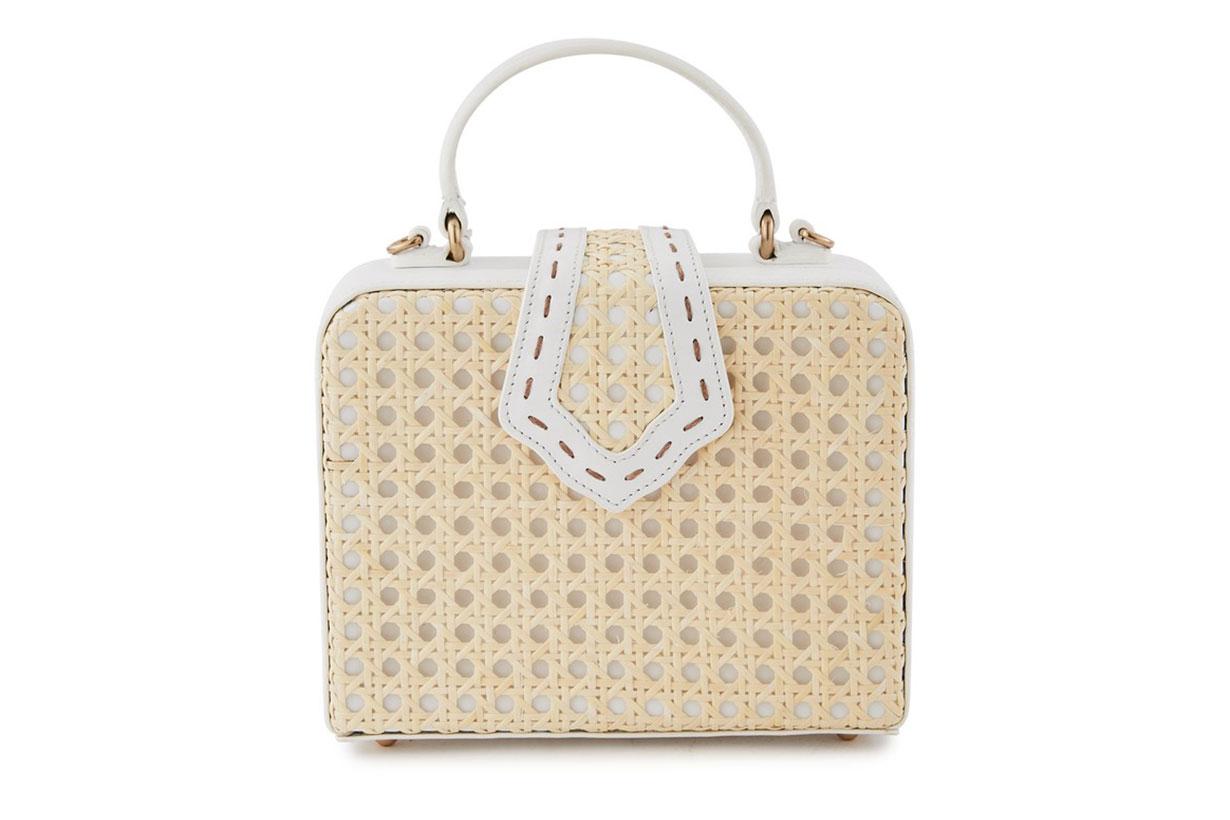 Mini Fey Rattan Handbag