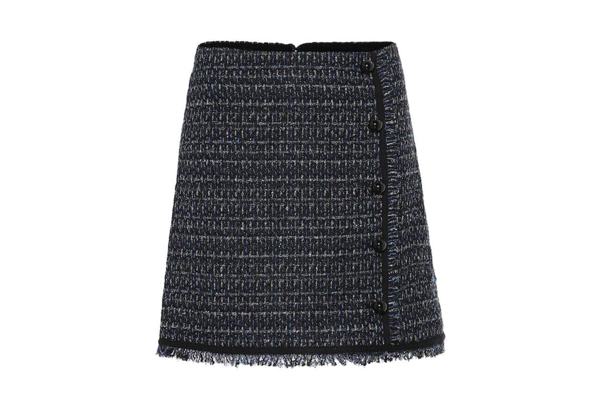 Mirabelle Tweed Miniskirt
