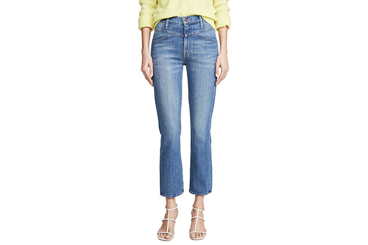 MOTHER The Dazzler Yoke Front Ankle Jeans