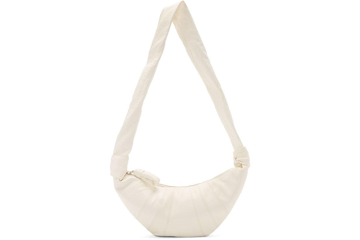 Off-White Croissant Bag