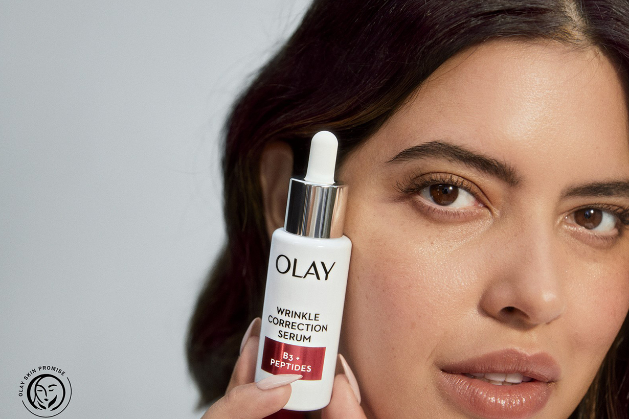 Olay not using photoshop advertising campaign unretouched models beauty standard body positive beauty brands new development 2020