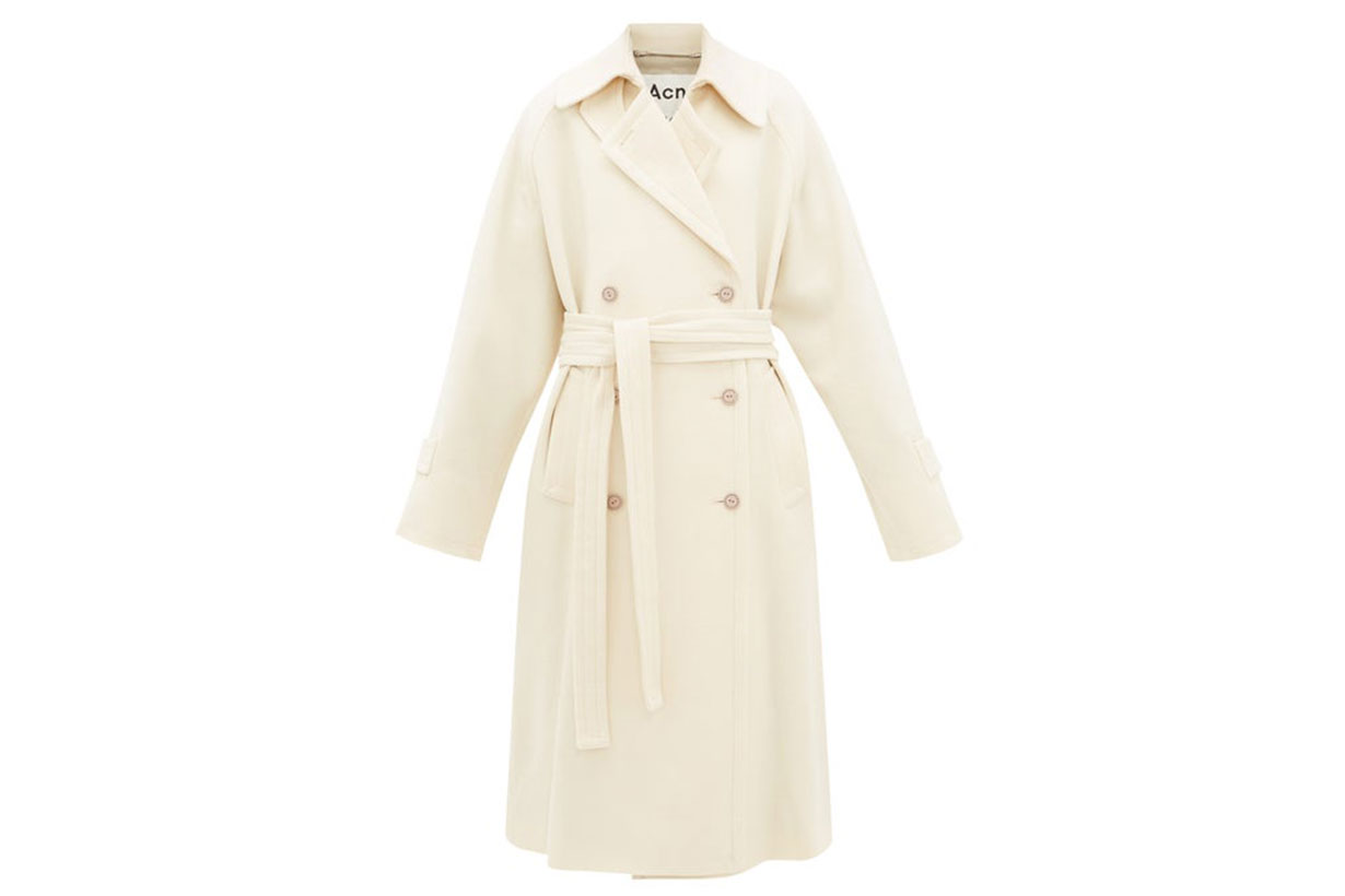 Orane Wool-twill Trench Coat