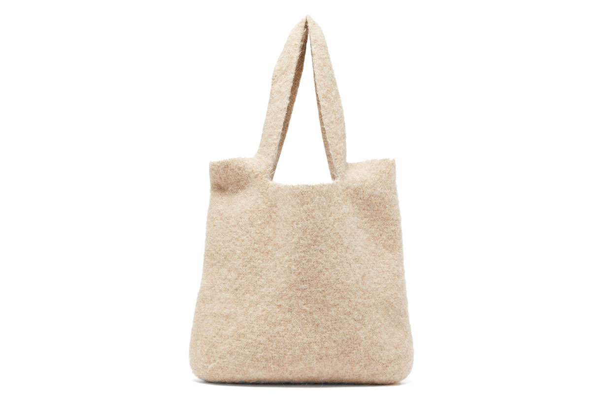 Oval Knitted Tote
