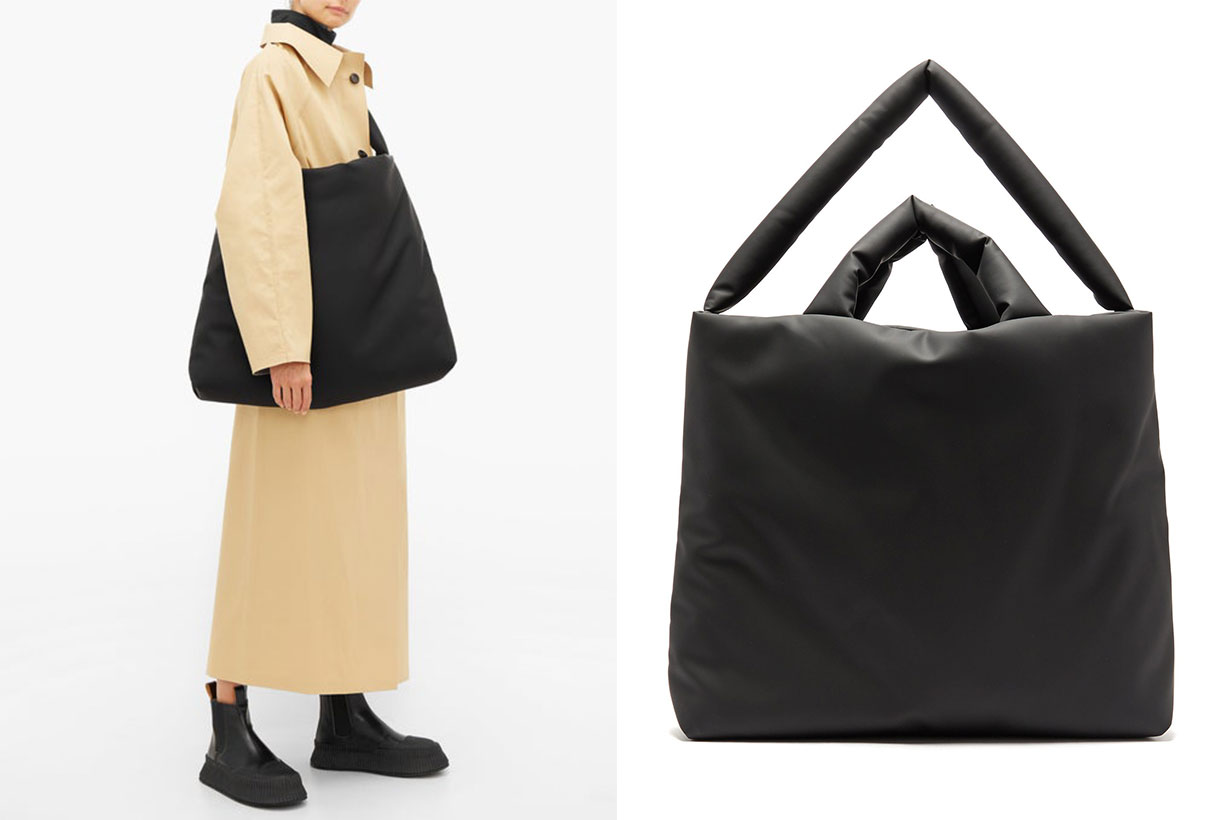 Rubber Large Padded Tote Bag