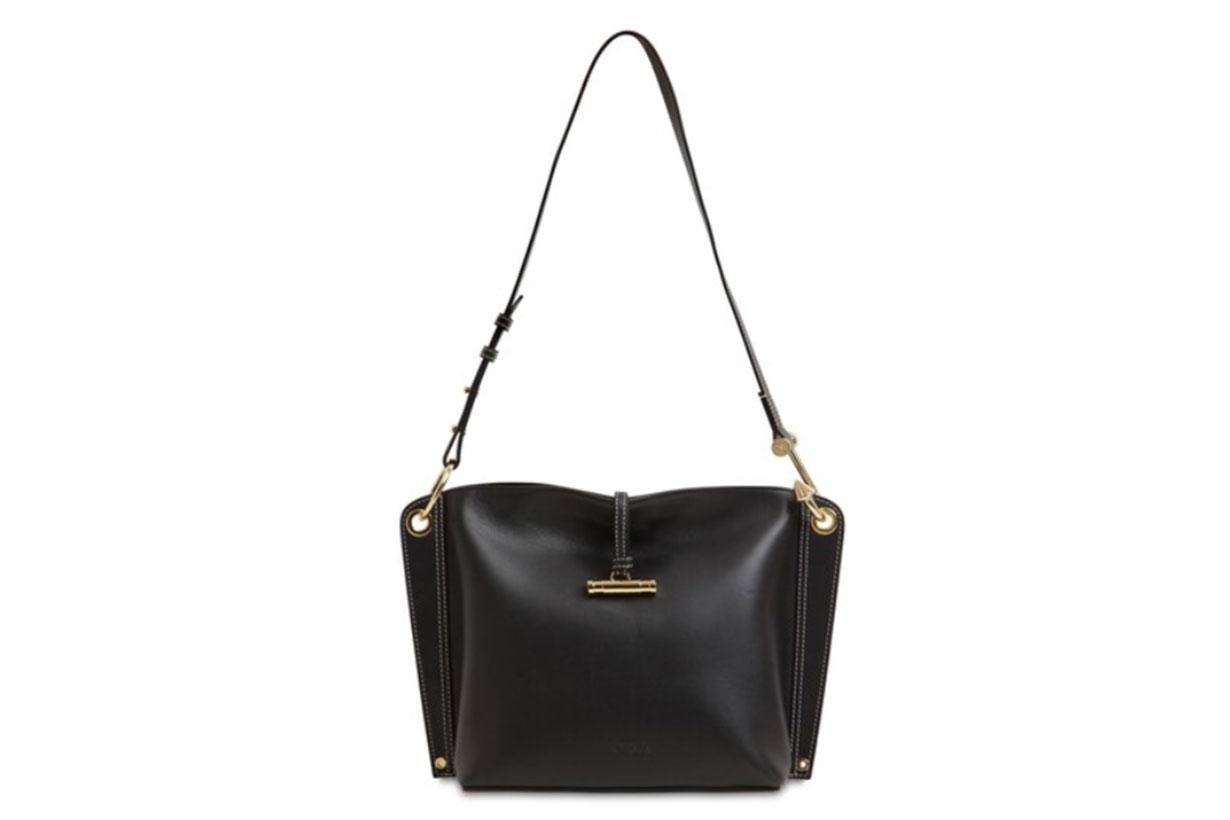 Small Hoist Smooth Leather Shoulder Bag