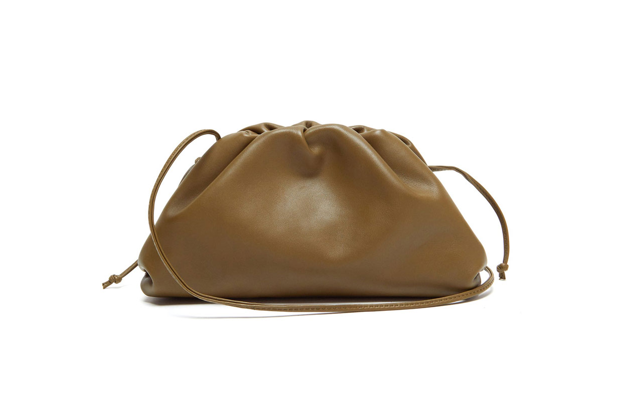 The Pouch Small Leather Clutch
