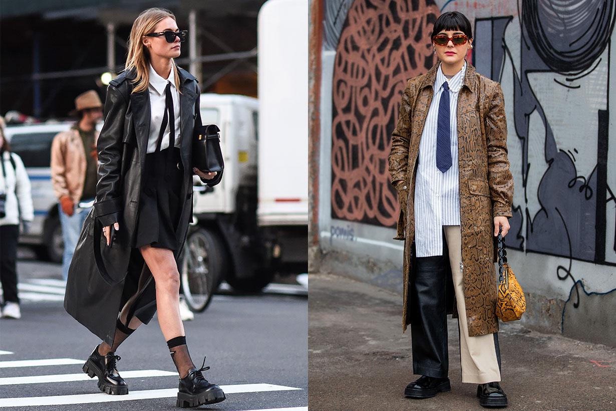 Tie Fashion Fashion Week Street Style 2020 Maria Bernad