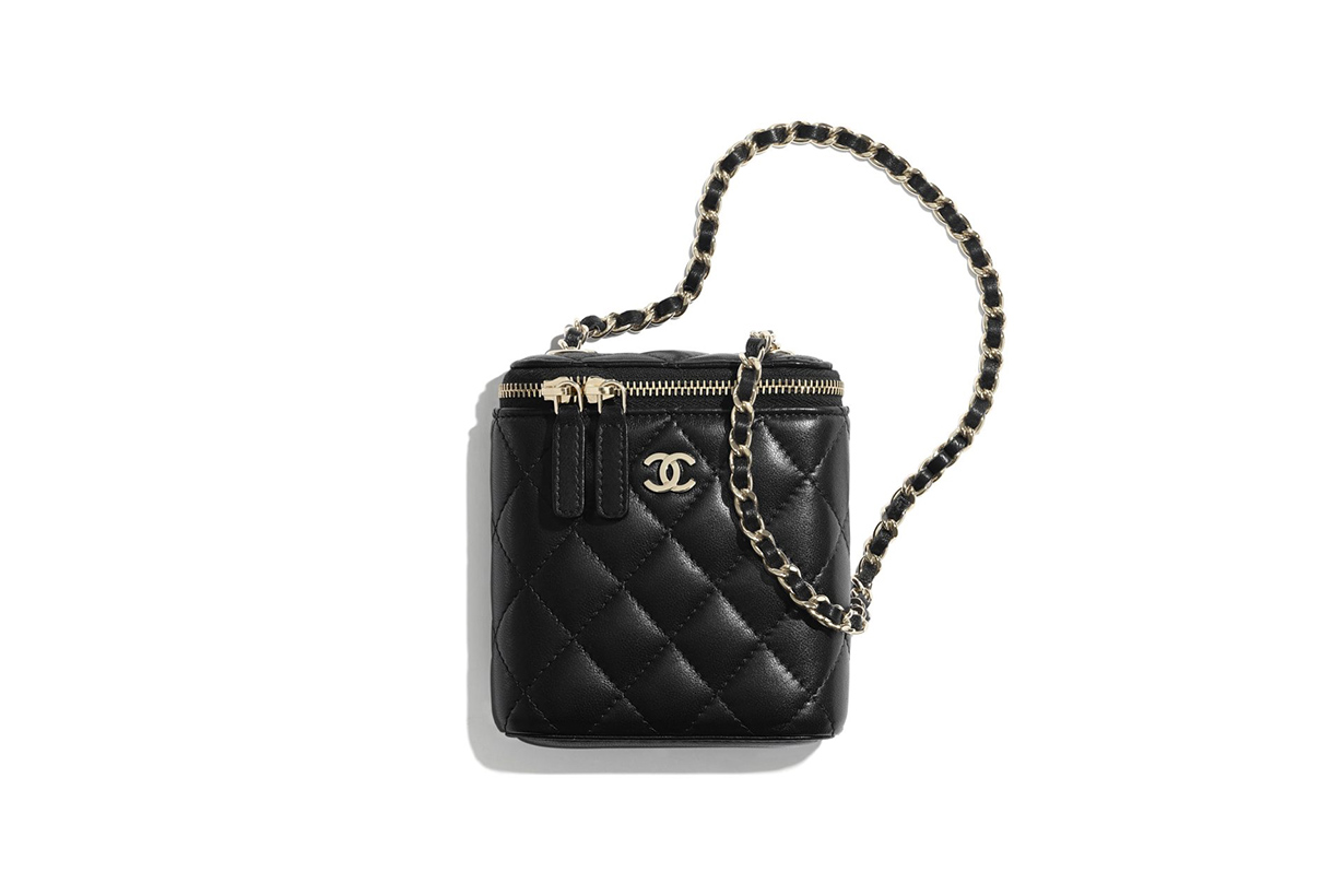 chanel spring summer 2020 small classic box with chain handbags