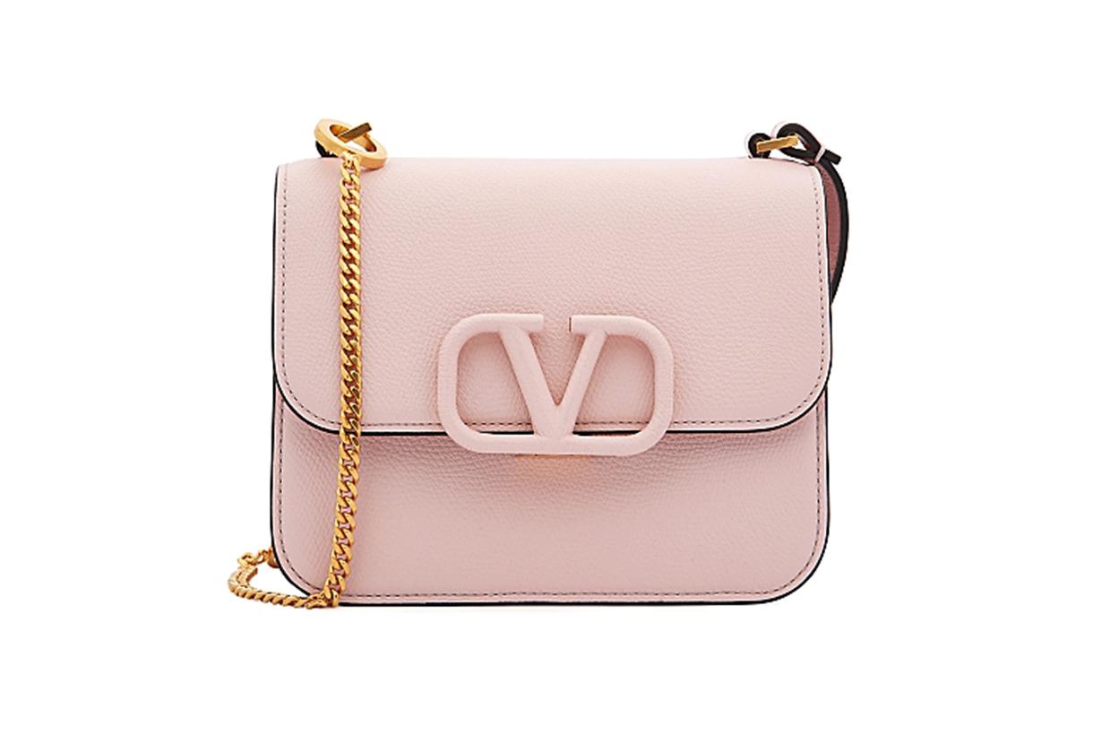 VALENTINO Valentino Garavani VSling small pink leather cross-body bag