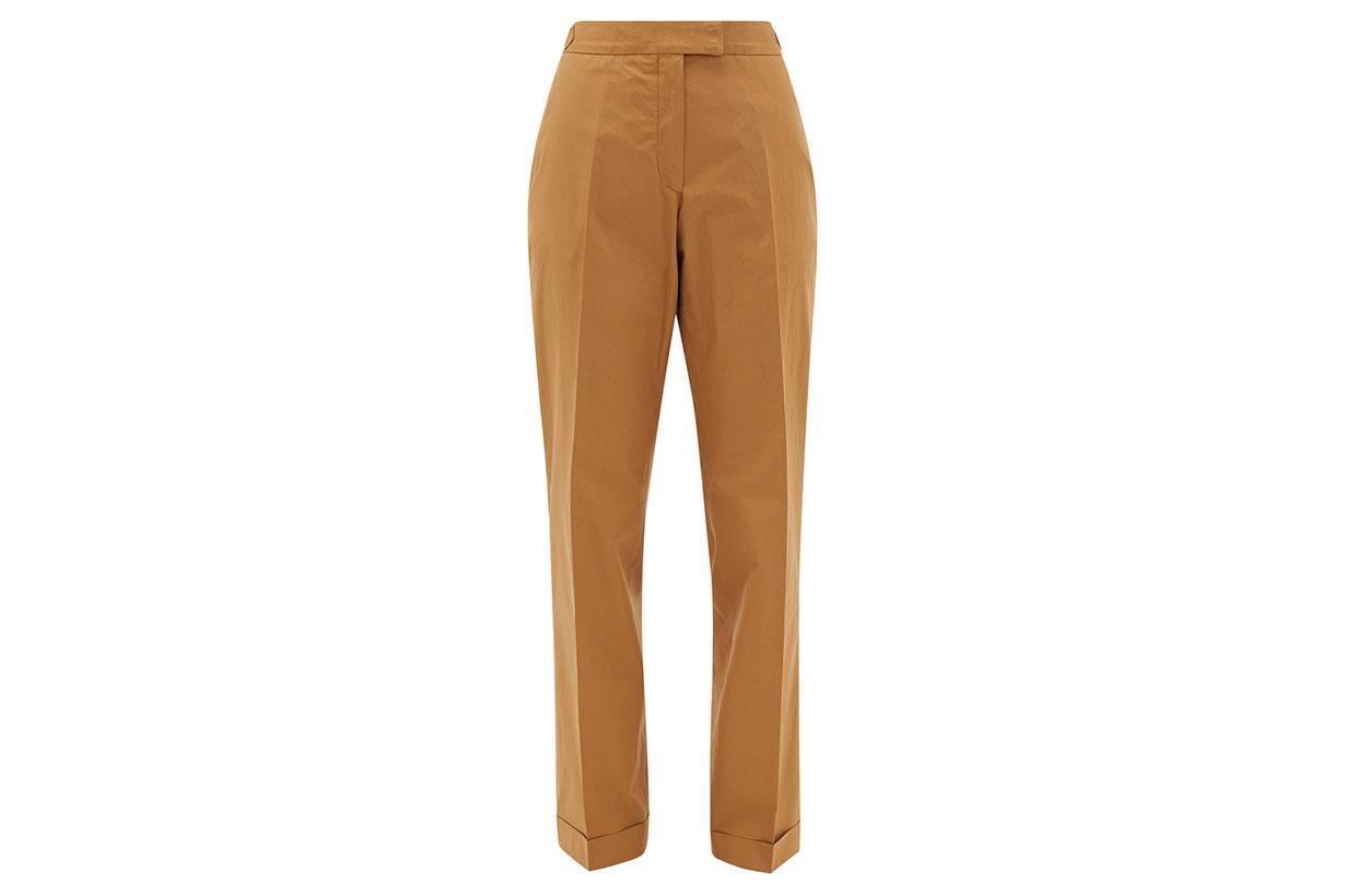 Vera Cotton-poplin Trousers
