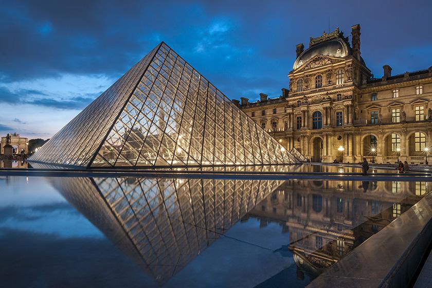 Musée du Louvre Covid-19 Close