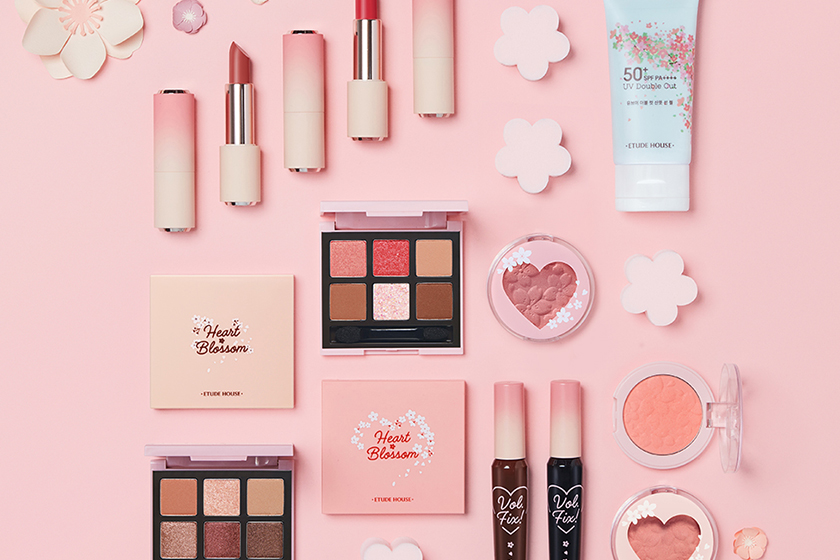 sakura Makeup Collection Etude House shu uemura MAC