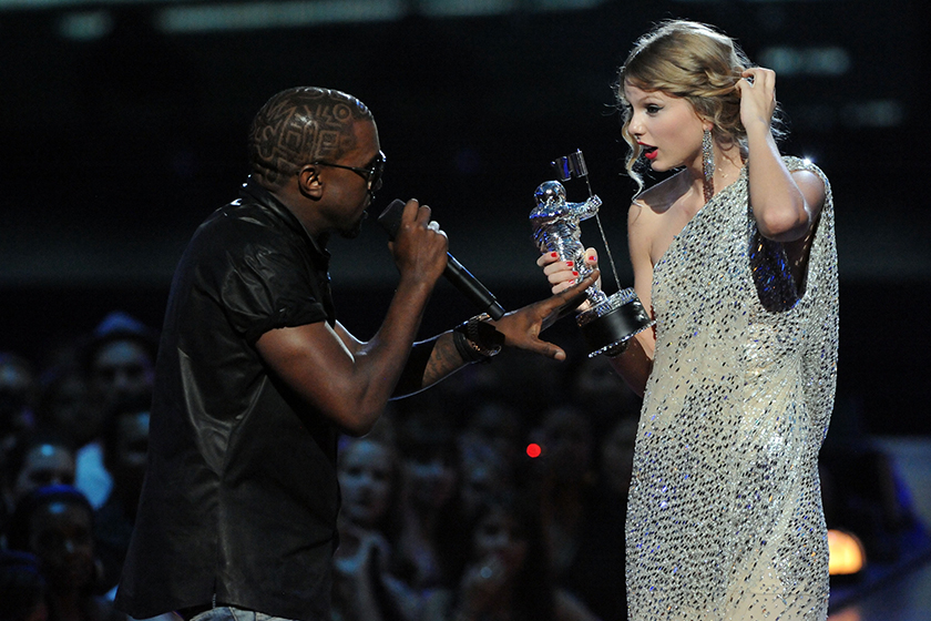 Taylor Swift Kanye West Famous