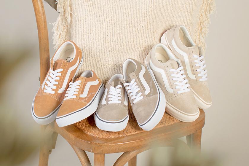 Vans Old Skool milk tea color Sneakers