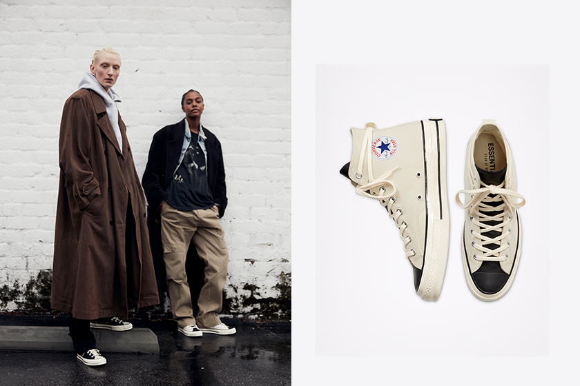 Fear of God ESSENTIALS x Converse Chuck 70