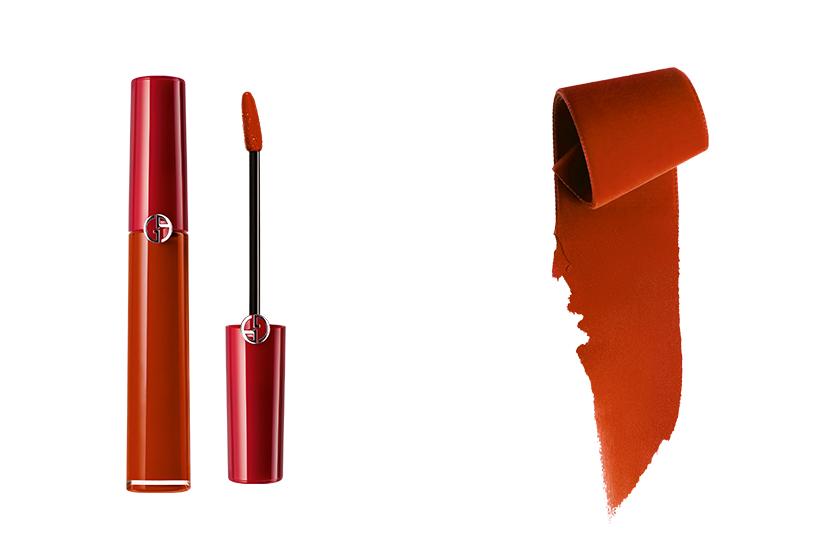 Giorgio Armani Beauty red lipstick 205 200