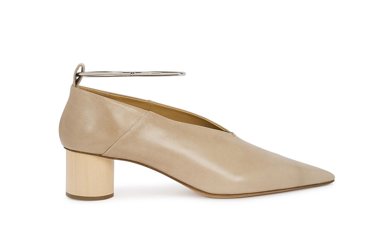 50 Stone Leather Pumps