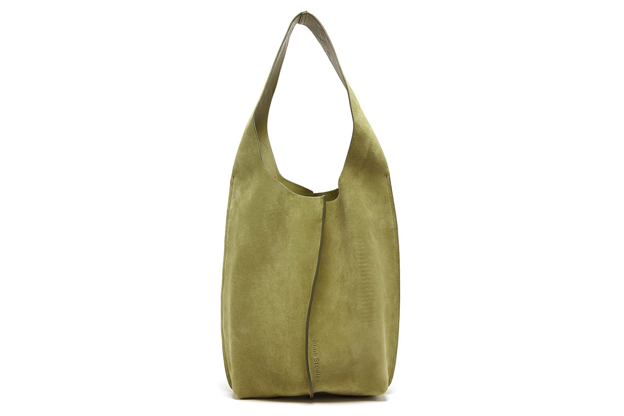 Adrienne Suede Shoulder Bag