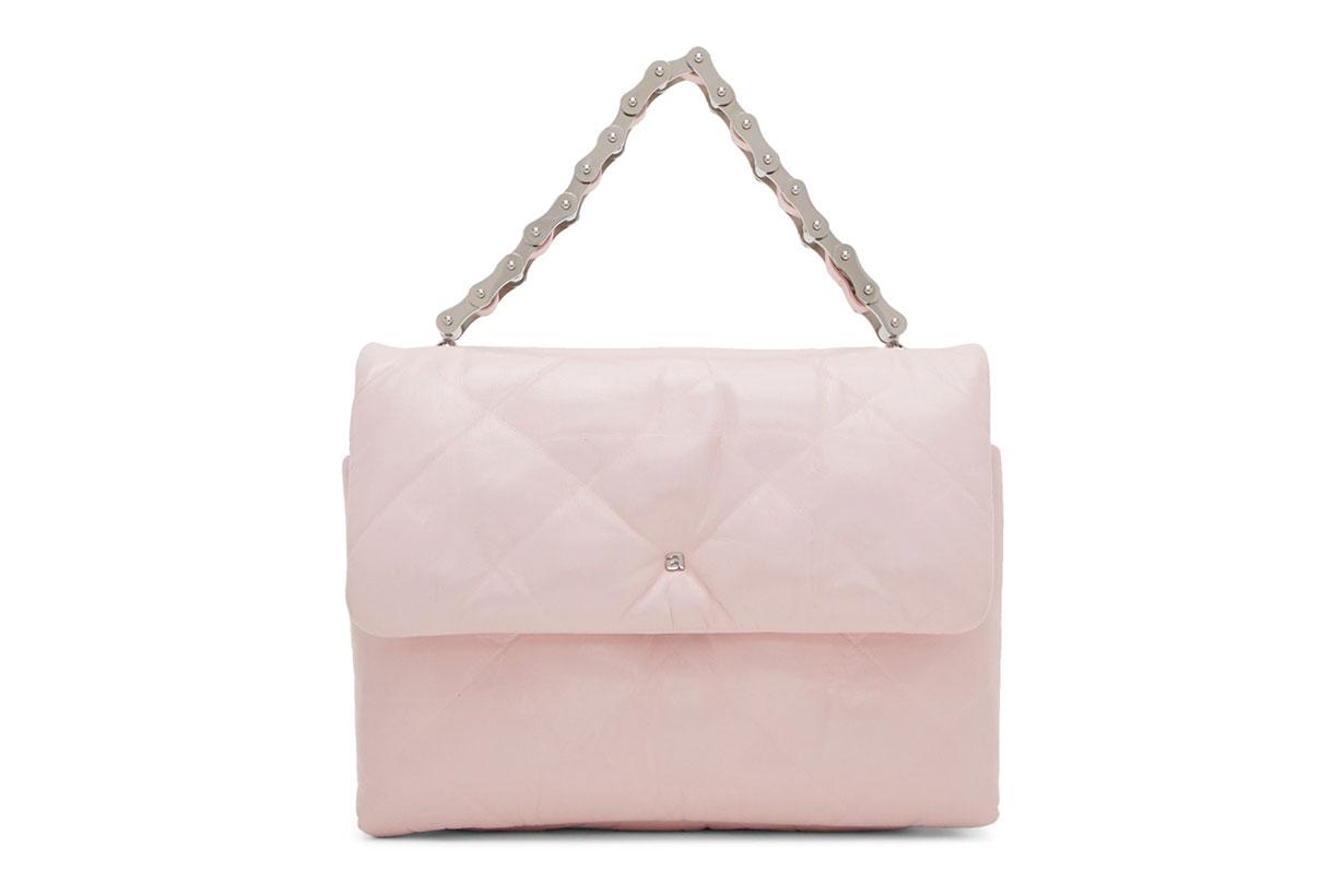 Alexander Wang Pink Halo Flap Crossbody Bag