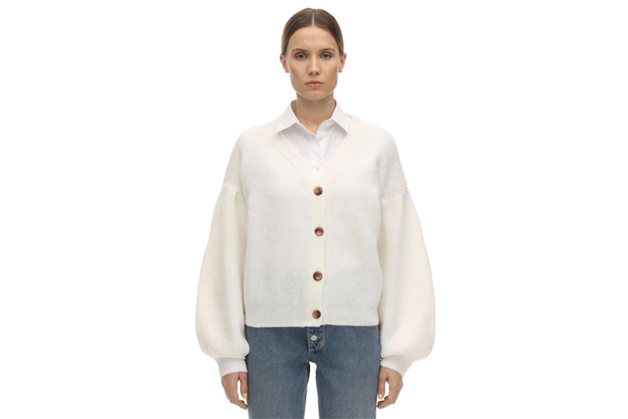 BAUM UND PFERDGARTEN Celine Wool Blend Knit Cardigan