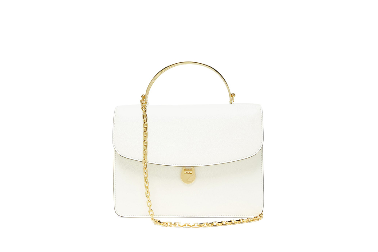 White Handbags Trends 2020 Spring Summer BOTTEGA VENETA BIENEN-DAVIS BALENCIAGA SHRIMPS LOEWE PRADA MARNI STAUD GUCCI HILLIER BARTLEY