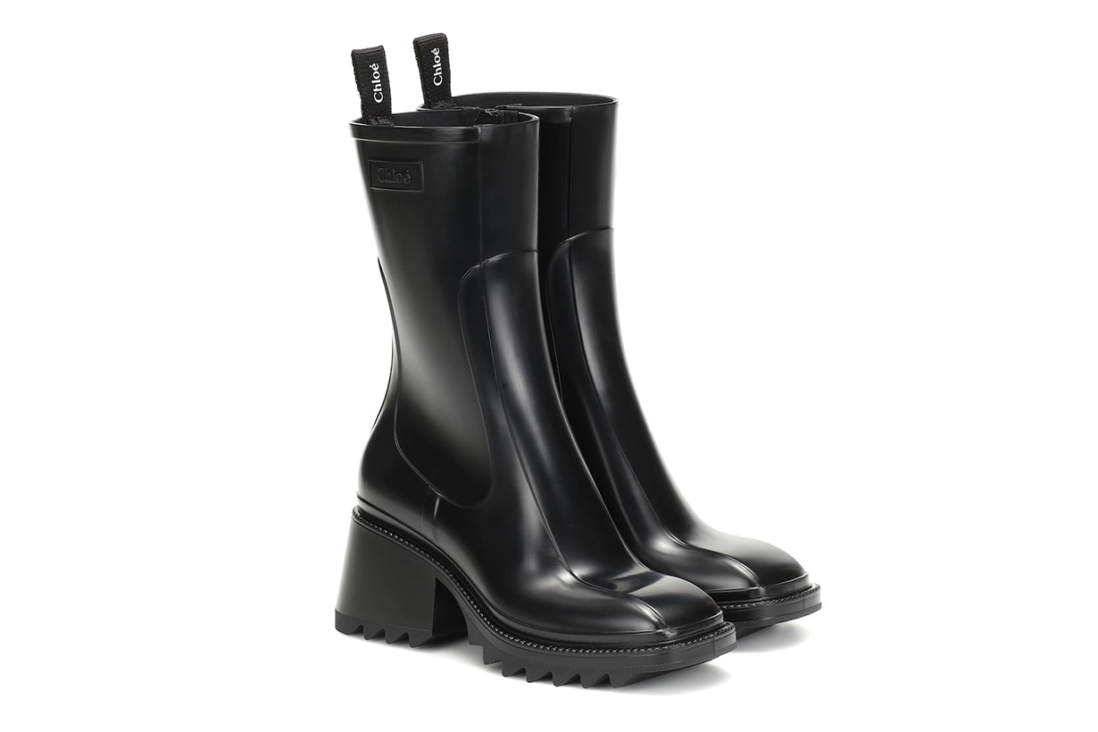 Betty PVC Ankle Boots