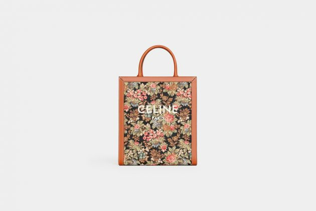 celine HEDI SLIMANE floral boho cabas luggage Triomphe